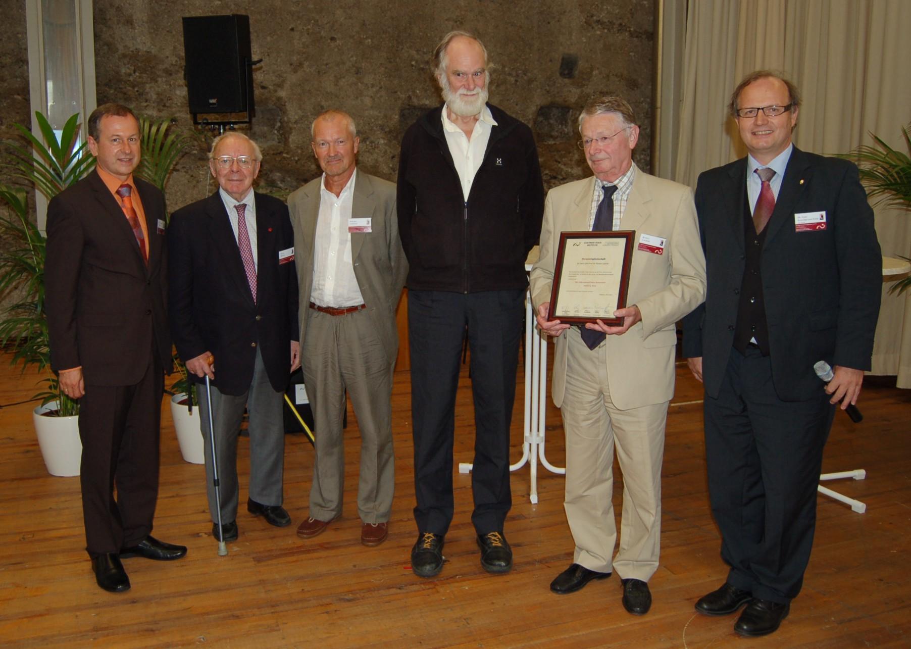 von li. nach re.: Tropper, Muhar, Lindestadt, Sundberg, Lackner, Schlömicher